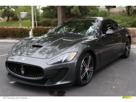 maserati dark blue 2014 grigio lava dark grey maserati granturismo mc coupe