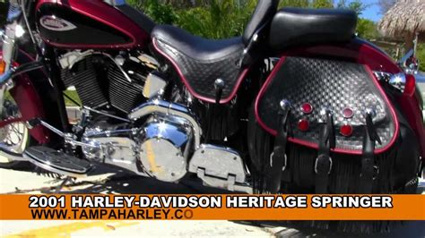 How To Delete Info On True Search 2001 Harley Davidson Flsts Heritage Softail Springer With Upgraded True Dual Exhaust