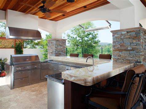 backyard kitchens photos hgtv