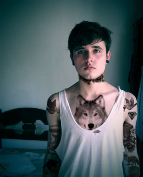 tattoos tumblr for men guys with piercings on