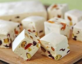 white chocolate nougat recipe