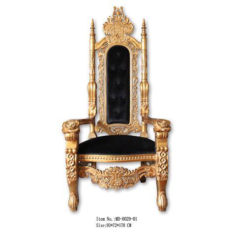 antieke troon stoel antieke gouden koning troon stoel in hot selling bruiloft