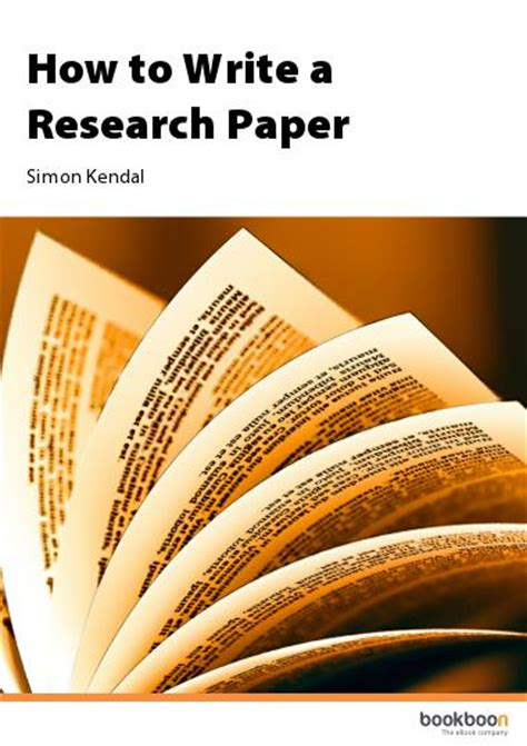 how to write a scientific paper book concepts in scientific writing