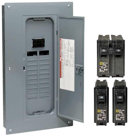 electrical circuit box square d hom2040m100pcvp 100 homeline breaker