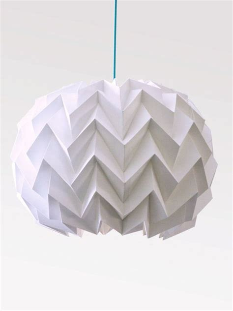 Paper Sphere Origami - origami paper l lshade zigzag sphere by