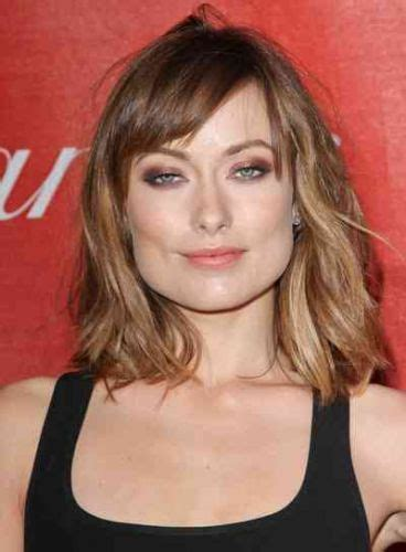 hair spotlight the lob haircut the hairstyle blog 8 olivia wilde bangs haircuts she makes bangs look hot