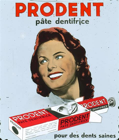 Prodent Reclame Vintage Advertising Prodent P 226 Te Dentifrice Geheugen Nederland