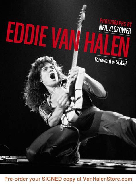 biography slash book eddie van halen hardcover photo book by neil zlozower