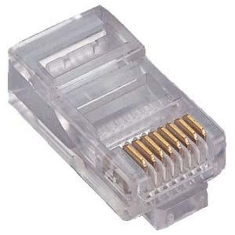 Konektor Rj45 cob rj45 cat 5e crimp plugs from 163 0 12 adept networks