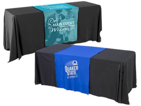 table skirts with logo custom table covers skirts personalized logos graphics