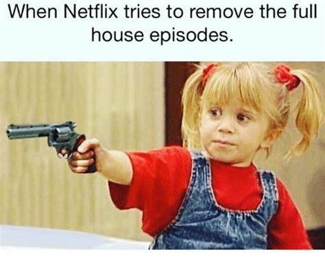 Full House Memes - when netflix tries to remove the full house episodes