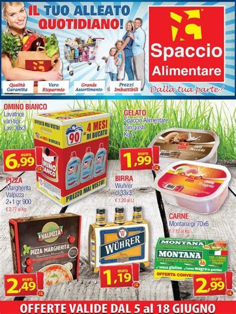 mercato alimentare volantino volantino spaccio alimentare 5 18 giugno 2015 volantino az