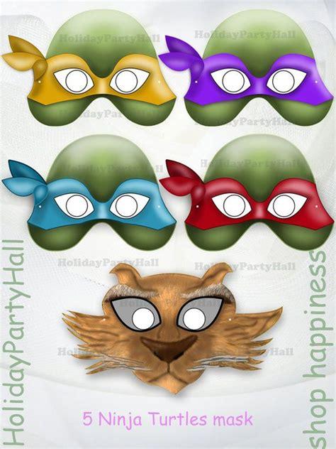 printable leonardo mask unique ninja turtles printable masks mask heroes teenage