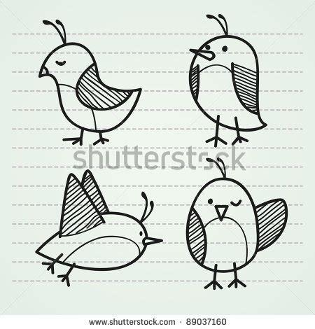 doodle bird free vector stock vector doodle bird doodles animals