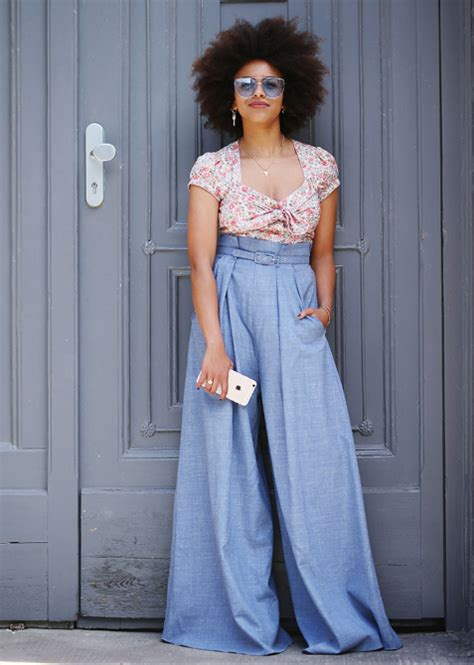 Dressing Up Wide Leg Make Them Your Fashion Forward Denim Choice by Wide Leg Are A Comeback Summer 2017 Stylecaster