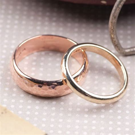 Handmade Gold Wedding Bands - handmade gold wedding bands wedding bands design ideas