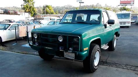 m1009 cucv chevrolet k5 diesel blazer 4x4 for