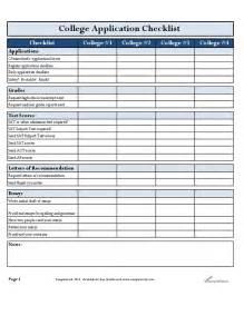 college application checklist template college application checklist hashdoc