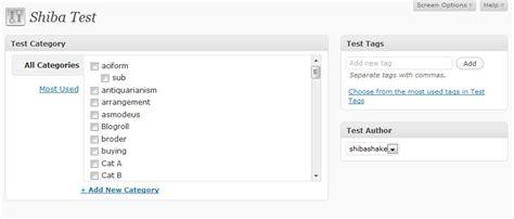 wordpress layout meta box add a standard wordpress meta box
