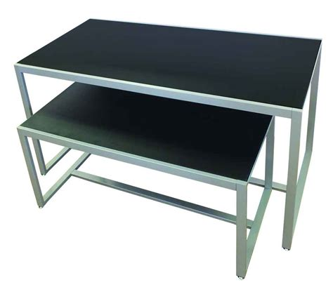 display table display tables retail display tables nesting tables