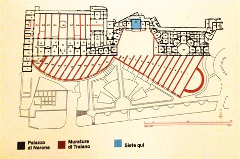 One Story House Plan domus aurea a must see in rome