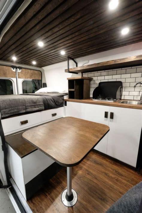 biggie dodge ram promaster van conversion  native campervans van living pinterest