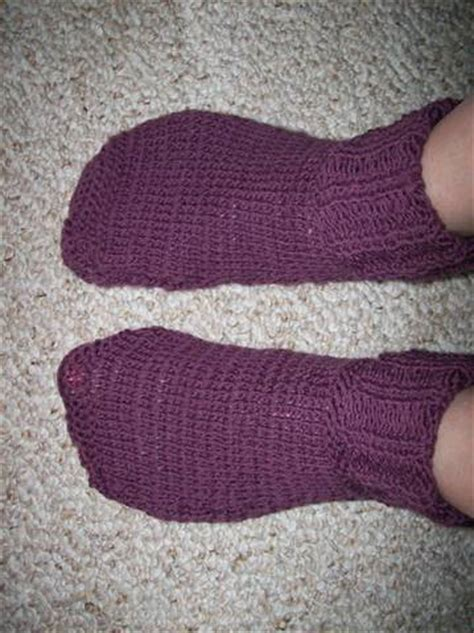 free two needle sock knitting patterns two needle slippers 28 images free pattern simple 2