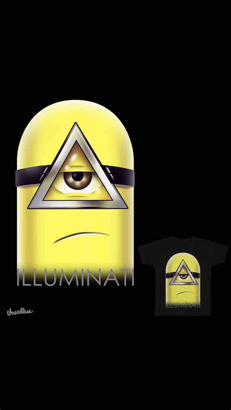 illuminati apple iphone wallpaper hd iphone x 8 7 6 illuminati minions free