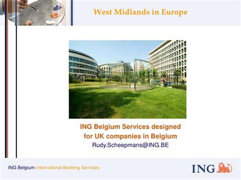 bank ing belgium ing belgium