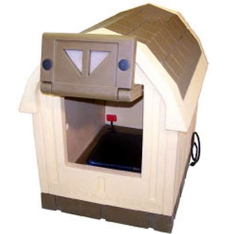 large heated dog house new heated insulated large dog house deluxe dog palace doghouse floor heater ebay