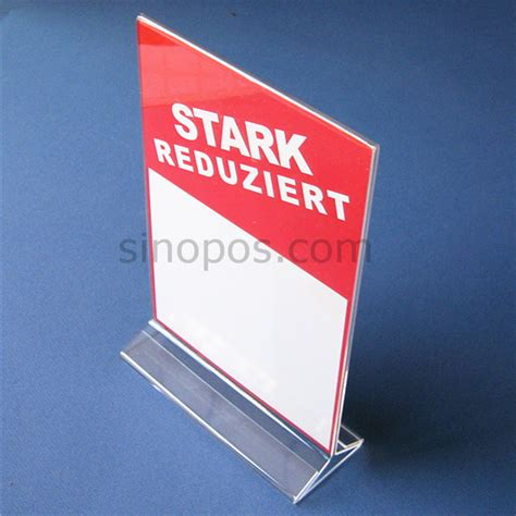 Acrilik Acrilic Acrilyc Standing Pop A4 popular poster display buy cheap poster display lots from