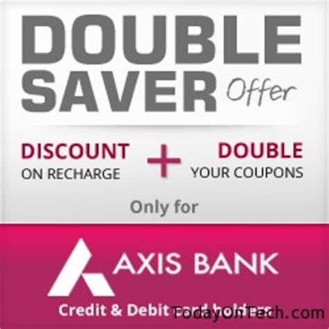 axis bank freecharge offer freecharge axis bank debit card back offer with