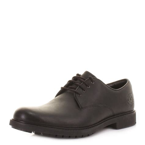mens timberland earthkeeper black leather lace up