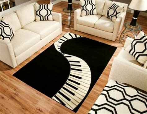 7 Must Try Music Themed Home Decor Ideas For Music Lovers Rug Song