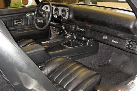 1973 Camaro Interior by 1973 Chevrolet Camaro Z 28 Rs Coupe 116026