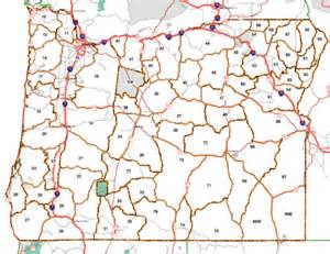 oregon unit map state map oregon hunt units