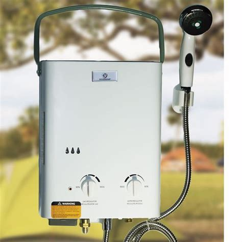 outdoor shower water heater 17 best images about eccotemp portable outdoor showers