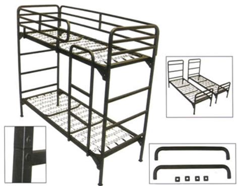 Institutional Bunk Beds Institutional Bunk Bed Institutional Grade Metal Bunk Bed 4500 Abm Nationalfurnishing