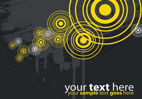 grey wallpaper target modern yellow and gray target vector background download