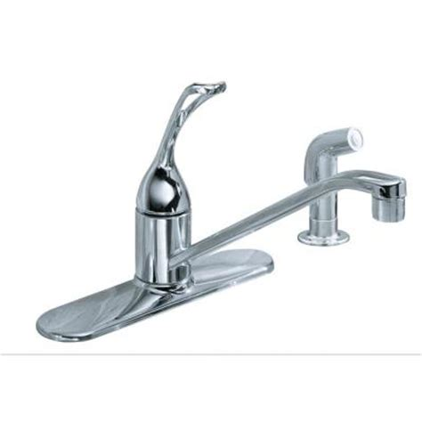 In Ground Water Faucet by Kohler Coralais Single Handle Low Arc Standard Kitchen