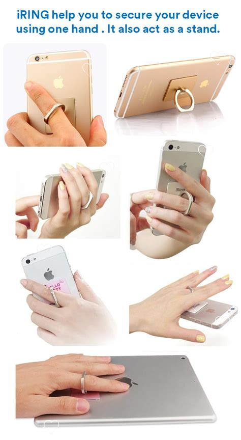 Iring Mobile Phone Ringstand Polos buy iring iphone ring phone holder ring act as phone stand suitable for all type of mobile phone