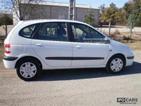 renault scenic 2002 specifications 2002 renault sc 233 nic 1 6i 16v car photo and specs