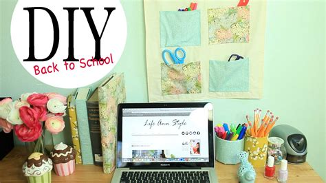 Diy Home Business Ideas by Diy Wall Organizer Desk Accessories Back To School Ideas