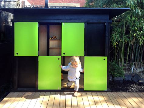 How To Play Green Glass Door by Play House Nic Owen Architects Melbourne Carlton