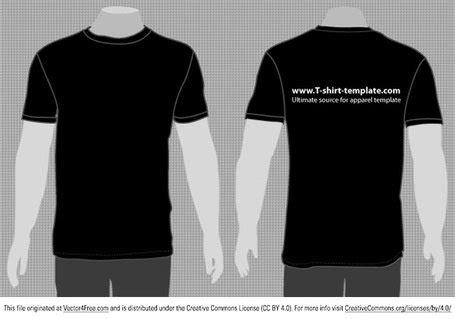 Kaos 3d Genethics Tank Big Size free vector moder t shirt template front back vectors