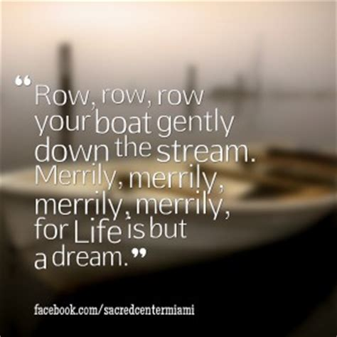 row the boat saying rowboat quotes quotesgram