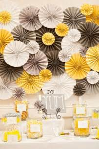yellow wedding decorations yellow and grey wedding table decoration ideas photograph