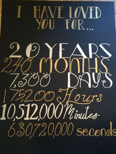 20th Wedding Anniversary Ideas by 20th Anniversary Time Anniversary