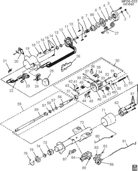 1963 chevy steering column diagram wiring diagram schemes