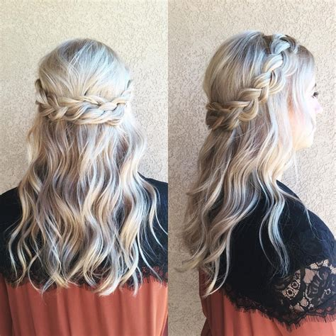 prom hairstyles half up half down curly women hairstyle prom hairstyle half up down hairstyles